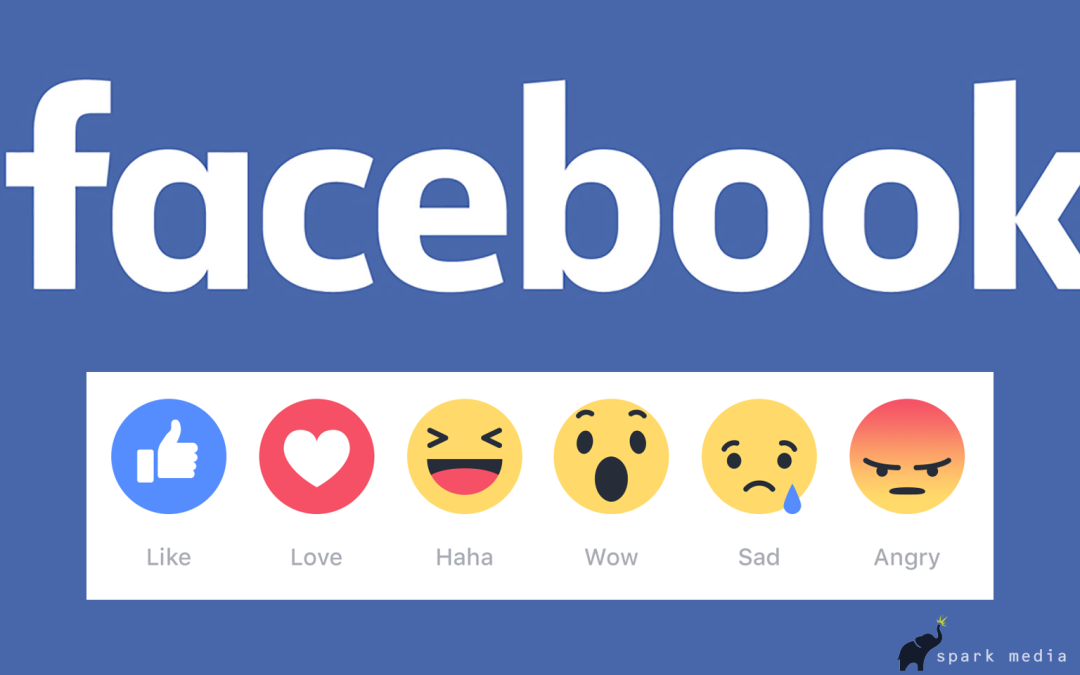 Facebook's New 'Like' Options Start Rolling Out
