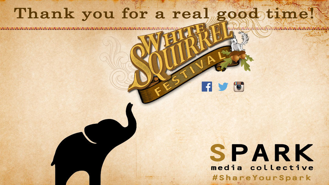 2016 White Squirrel Festival: Thank You for a Real Good Time!